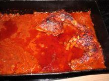 Udka duszone w sosie pomidorowym