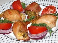 Udka faszerowane brokułami i serem