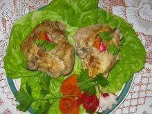 Udka kurczaka duszone