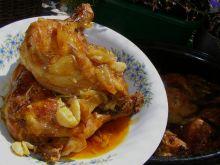 Udka kurczaka paprykowe z piekarnika