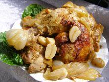 Udka kurczaka pieczone w piekarniku
