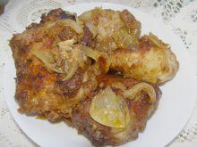 Udka kurczaka w musztardzie