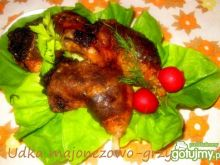 Udka majonezowo- grzybowe