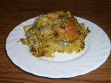 Udka w ryżu i warzywach