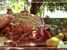 Udka w sosie kurkowo - koperkowym