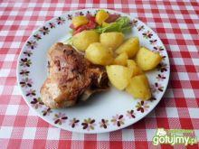 Udka z kurczaka w kostce rosołowej