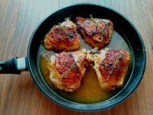 Udka z kurczaka w marynacie mandarynkowej
