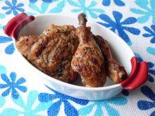 Udka z kurczaka w musztardowo-miodowej marynacie