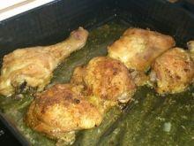 Udka z kurczaka w musztardzie i miodzie