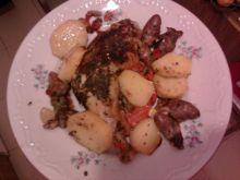 Udka z kurczaka w panierce (Pietruszkowo