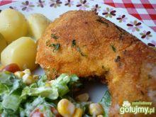 Udka z kurczaka w panierce z papryką