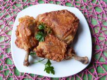 Udka z kurczaka w pikantnym cieście