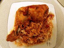 Udka z kurczaka w sosie a'la barbecue