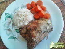 Udka z kurczaka z ryżem