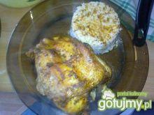 udko kurczaka z ryżem