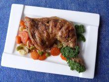 Udko z kurczaka duszone w warzywach
