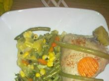 Udko z kurczaka w duecie z warzywami