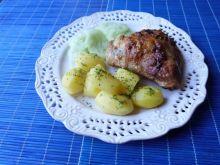 Udko z kurczaka w majonezowo-czosnkowej marynacie