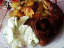 Udko z kurczaka z pieczarkową kieszonką