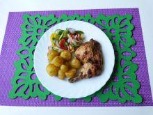 Udko z kurczaka z rozmarynem i czosnkiem