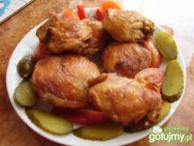 Udźce z kurczaka z piekarnika