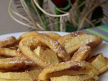 Uśmiechnięte ciastka serowe z jabłkami