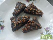 Wafelki czekoladowe