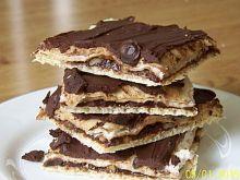 Wafelki czekoladowo-orzechowe