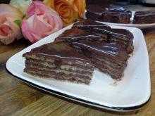 Wafelki jaglane w czekoladzie