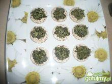 Wafelki ryżowe ze szpinakiem