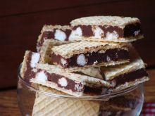 Wafelki z czekoladą