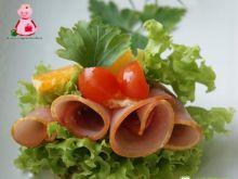 Wafelkowy sandwich :