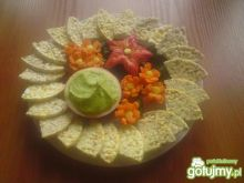 Wafle à la chipsy z salsą guacamole
