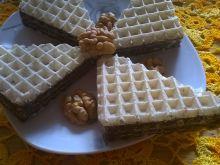 Wafle z czekoladą