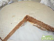 Wafle z polewą kakaową