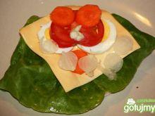 Waflowy potfforek warzywny