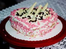 Walentynki - Tort Walentynkowy