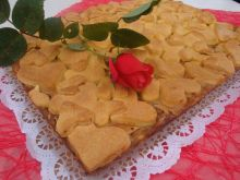 Walentynkowa szarlotka