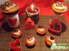Walentynkowe babeczki marchewkowe