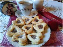 Walentynkowe ciasteczka z ptasim mleczkiem