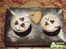 Walentynkowe deserki z kasztanami
