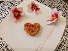 Walentynkowe mielone drobiowo - warzywne