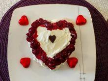 Walentynkowe mini-torciki bezowe