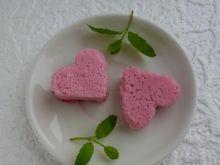 Walentynkowe mleczna pianka