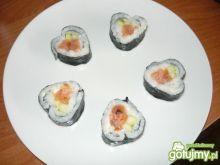 Walentynkowe sushi