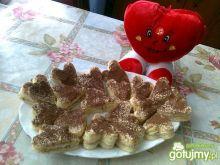 Walentynkowe torciki kawowe