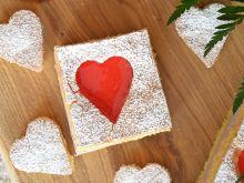 Walentynkowy biszkopt z seduszkami