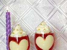 Walentynkowy deser Kocham Cię