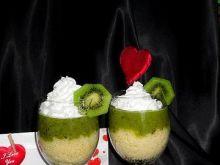 Walentynkowy deser z kiwi