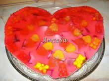 Walentynkowy serniczek na zimno